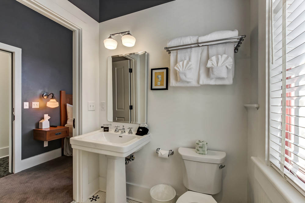 Cozy on-suite bathroom